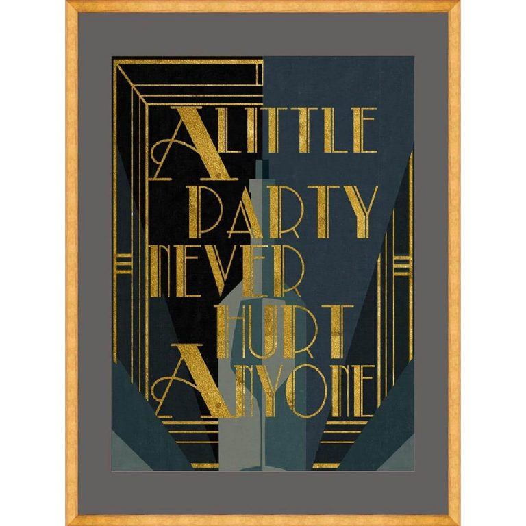 A Little Party Framed Art
