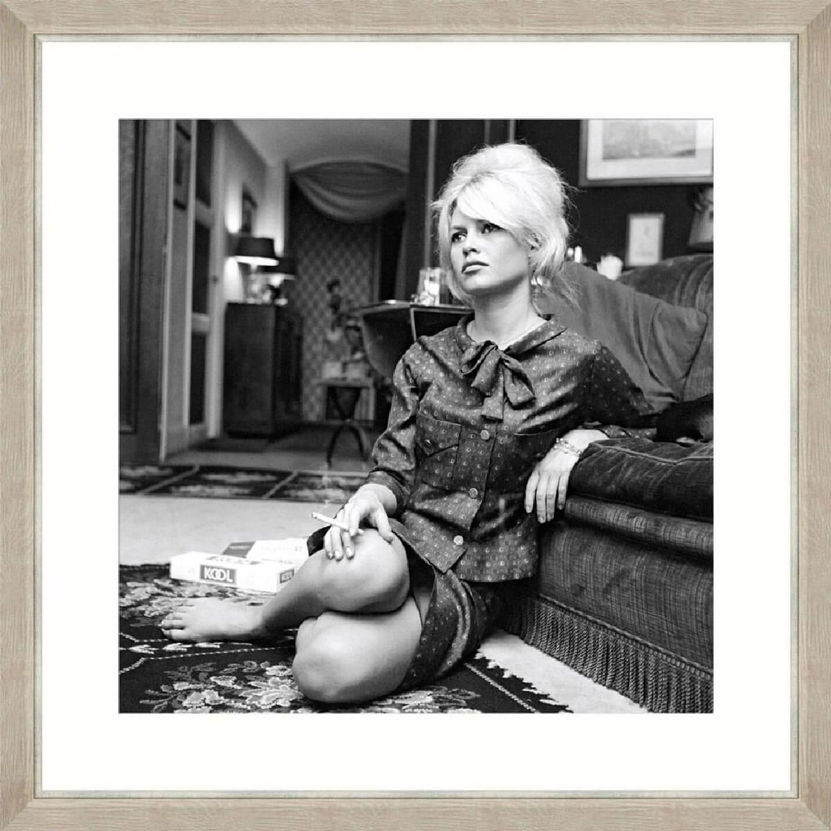 Brigitte-Bardot-Framed-Art