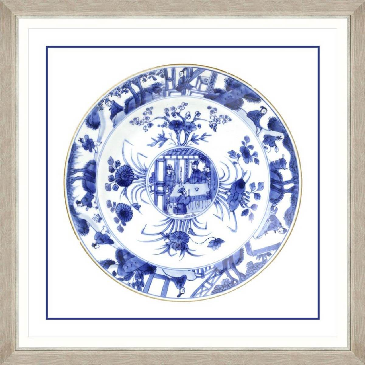 China-Imperial-1-Framed-Art