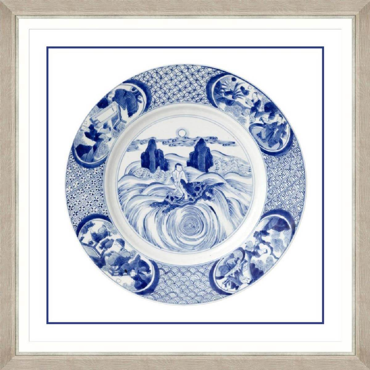 China-Imperial-4-Framed-Art