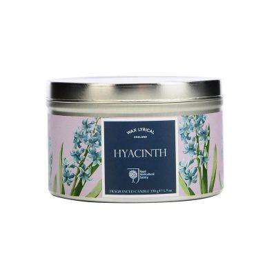 Hyacinth Candle Tin