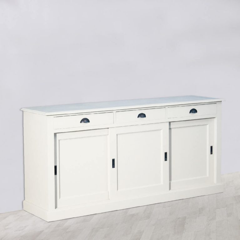 Nina 3 Sliding Door Sideboard