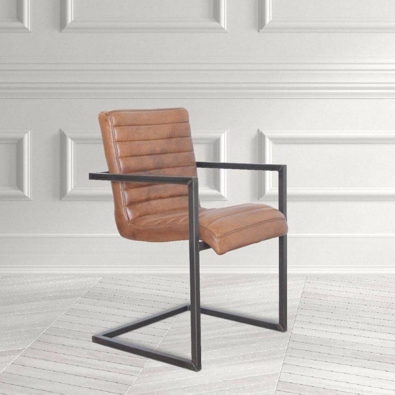 Manhattan Leather Dining Chair