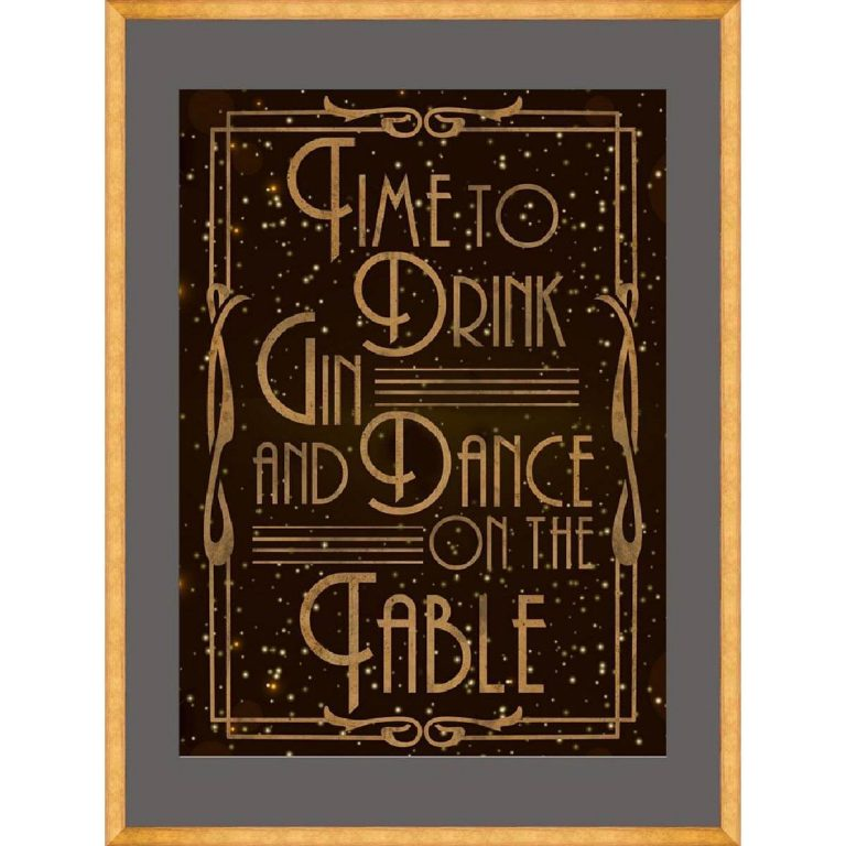 Time to Party Framed Art