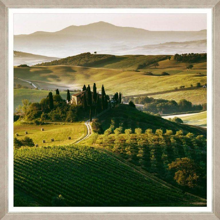 Tuscany Views 1 Framed Art