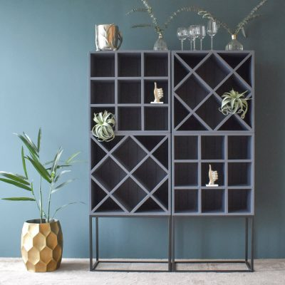 Asti Wine Rack Double