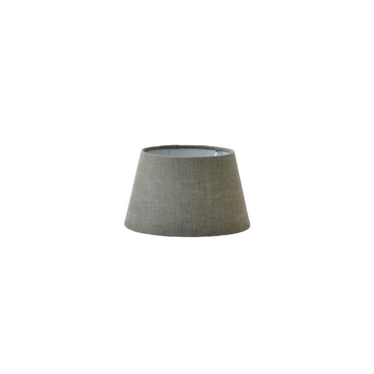 Grey Linen Lampshade 20 cm