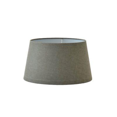 Grey Linen Lampshade 40 cm
