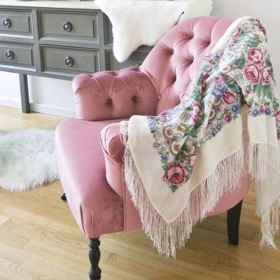 Oxford Armchair – Pink