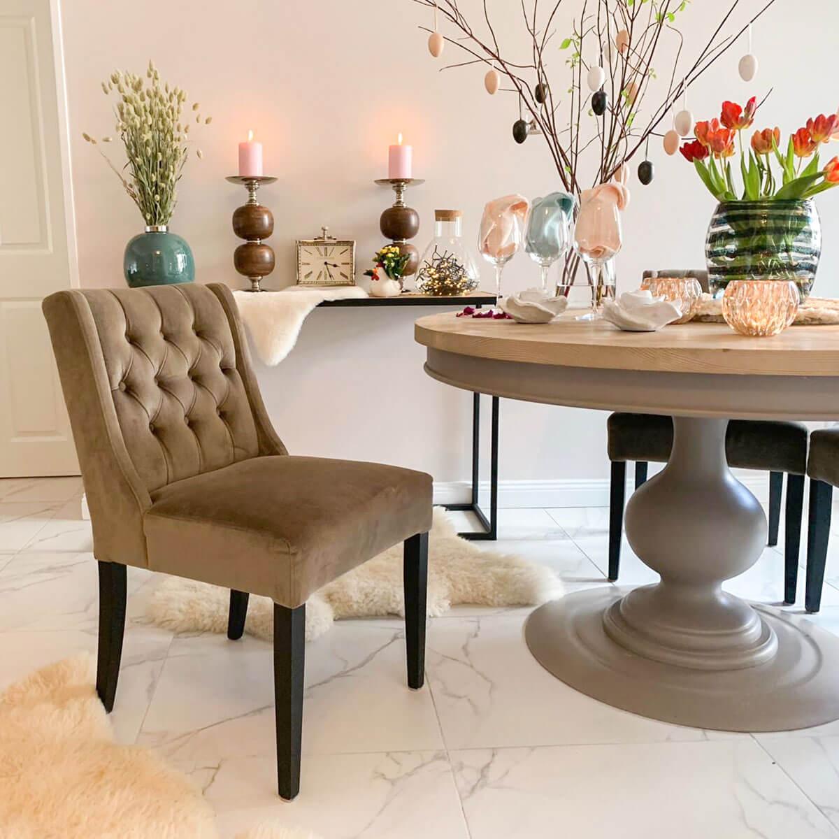 velvet dining chair abu dhabi