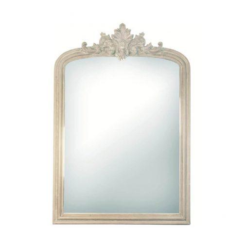 Versailles Mirror in White – Medium