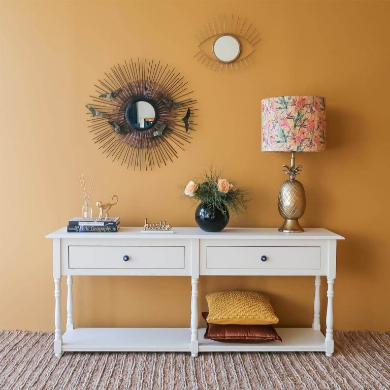 Gold Pineapple Table Lamp III