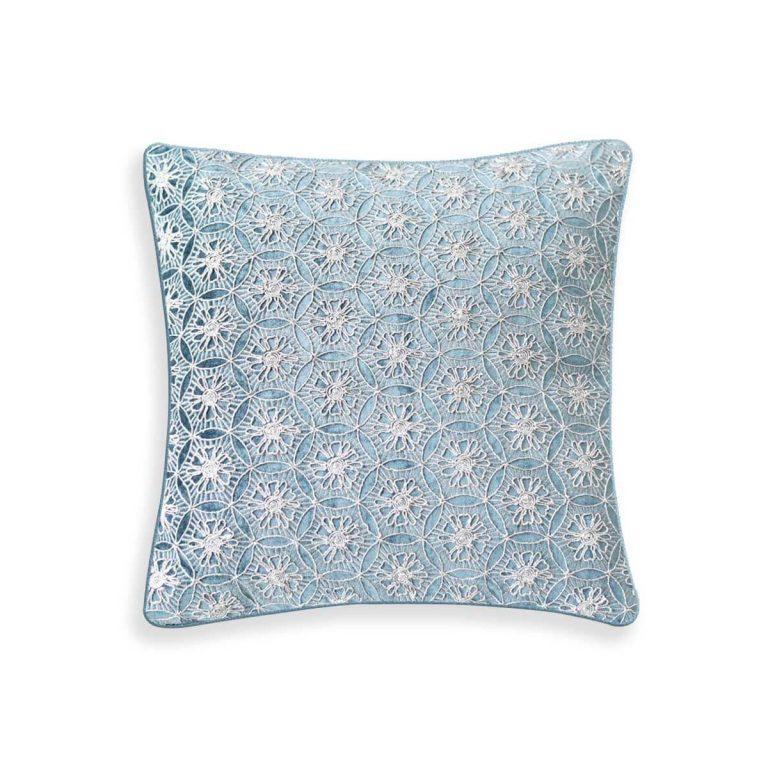 Glitter Cushion Aqua