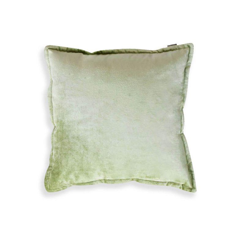 Velvet Cushion Green