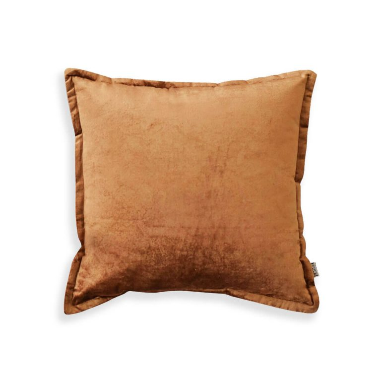 Velvet Cushion Bronze