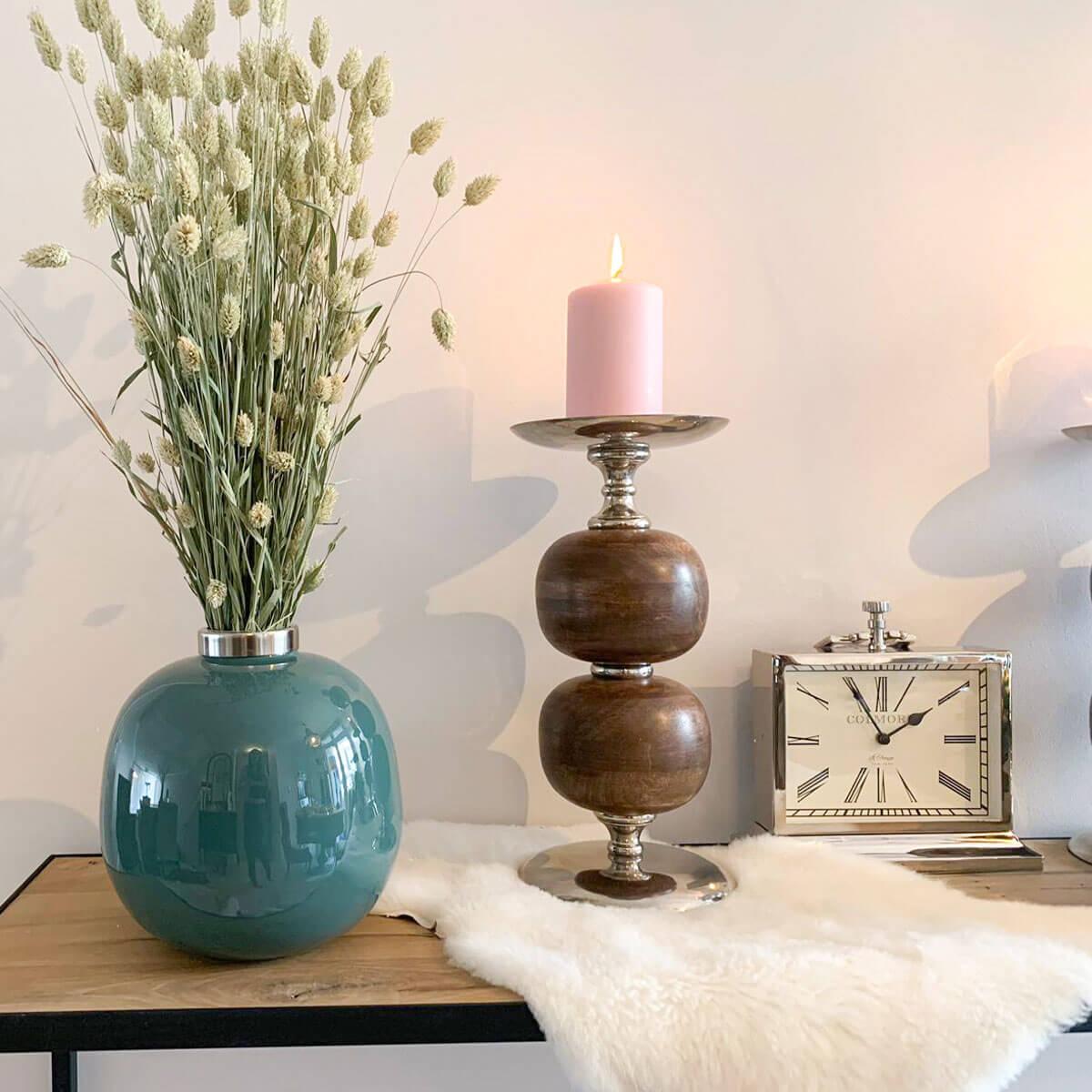 candle holder wood dubai cozy home