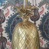 Gold Pineapple Table Lamp II