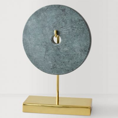 Green Marble Gold Stand