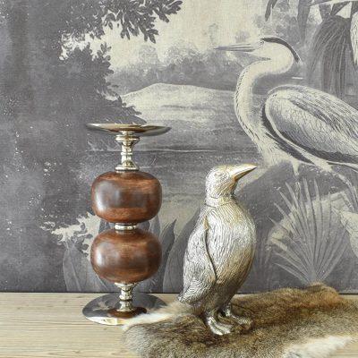 Penguin Silver Decor