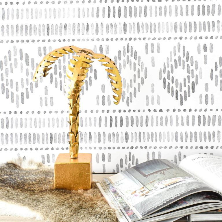 Palm Tree Gold 37cm