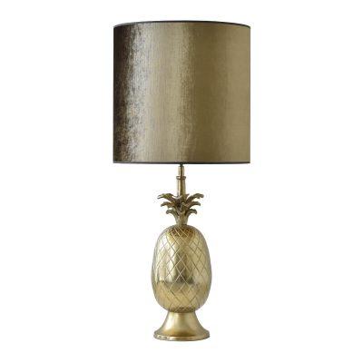Gold Pineapple Table Lamp II