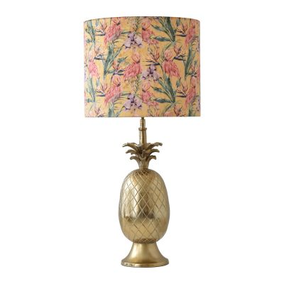 Gold Pineapple Table Lamp III