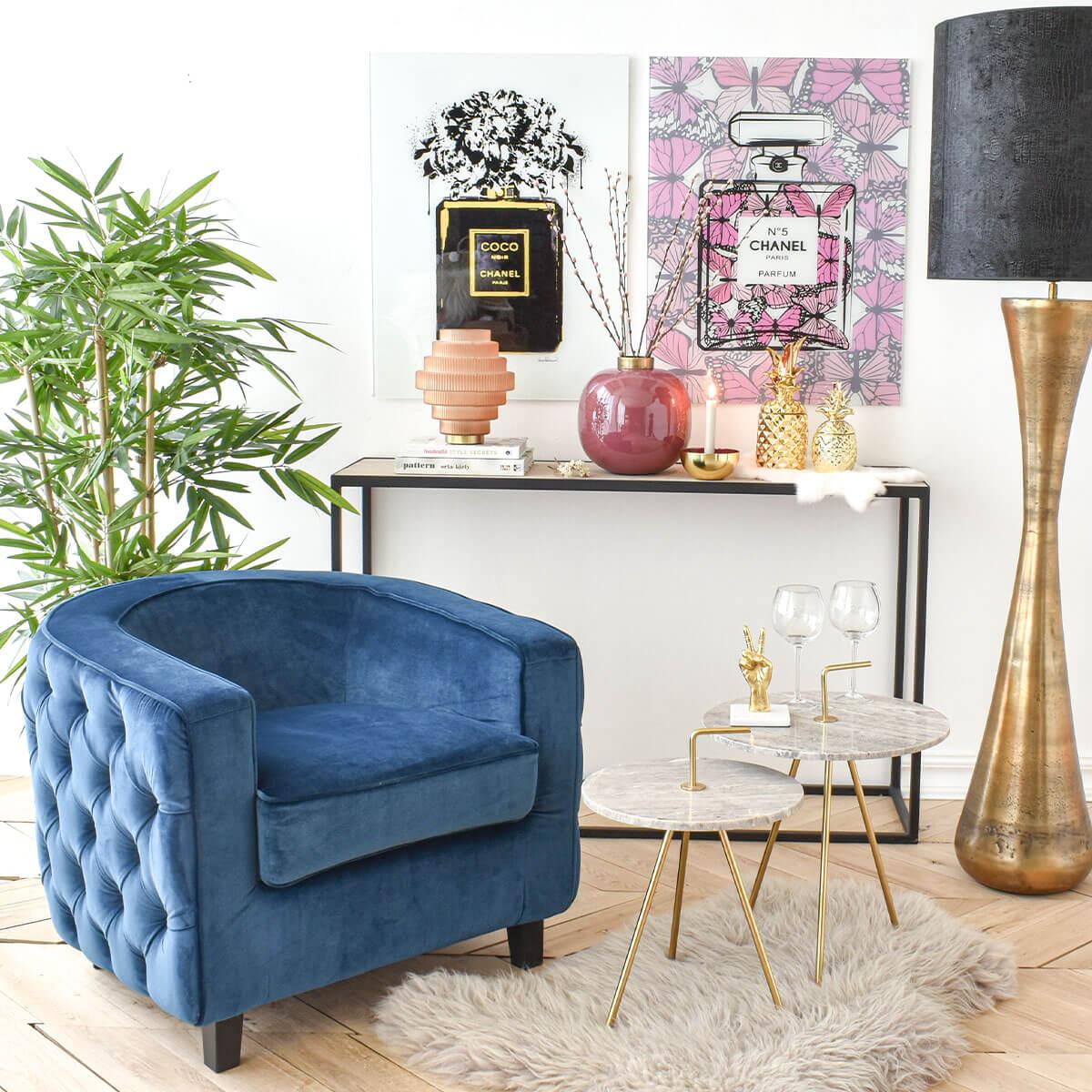 blue-quilted-club-chair-in-dubai