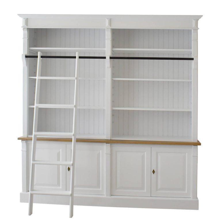 Caspian Bookshelf with Ladder