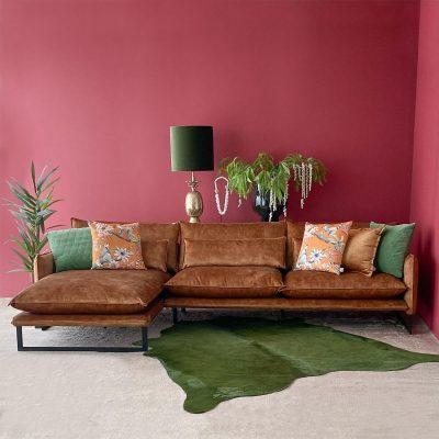 Kenzo Velvet Sofa