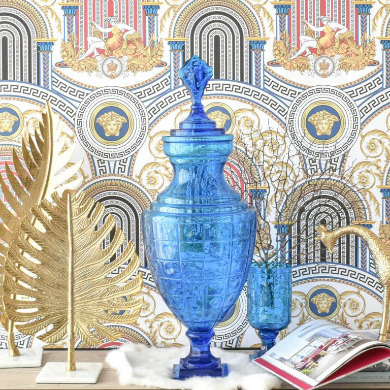Blue Crystal Jar