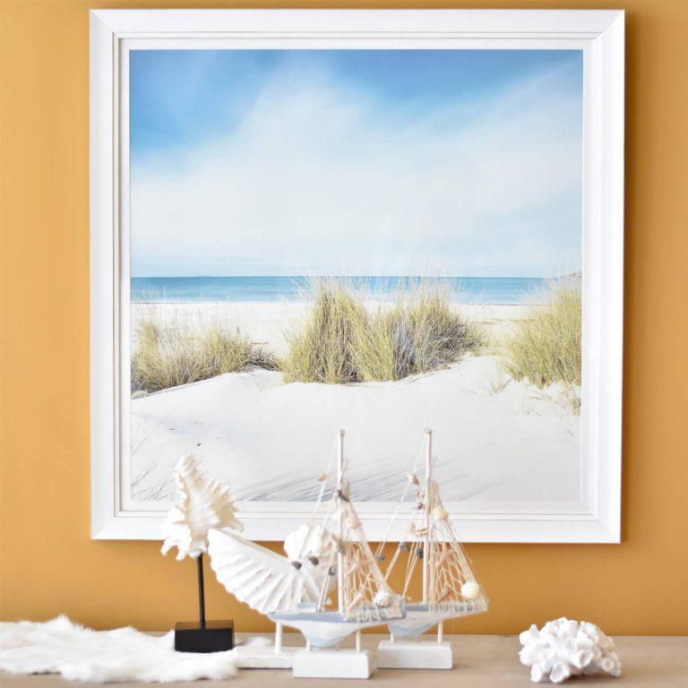 By the Beach 2 Framed Art