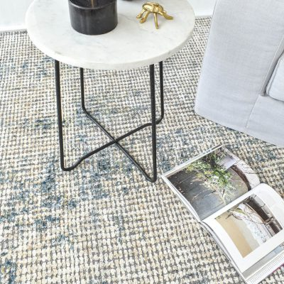 Indowall Nile Blue Rug – 190x290cm
