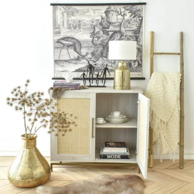 Hanover 2 Door Sideboard – Light Grey