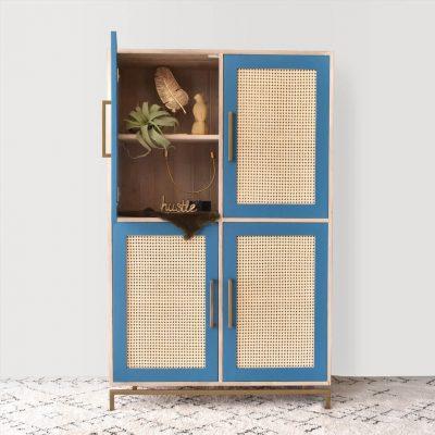 Monaco Cabinet – Duck Blue