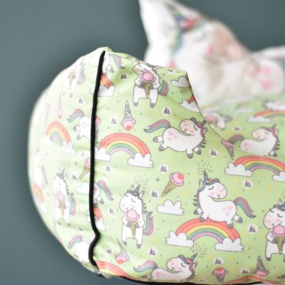 Unicorn Pet Bed – Green