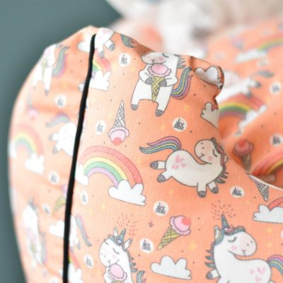Unicorn Pet Bed – Orange
