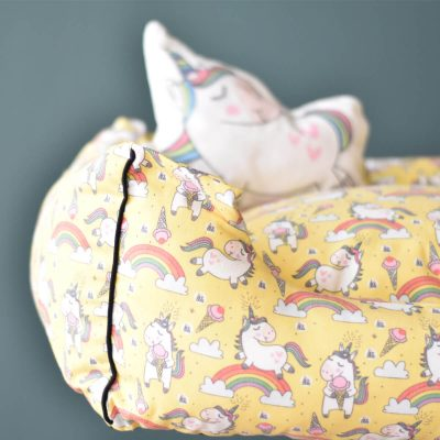 Unicorn Pet Bed – Yellow
