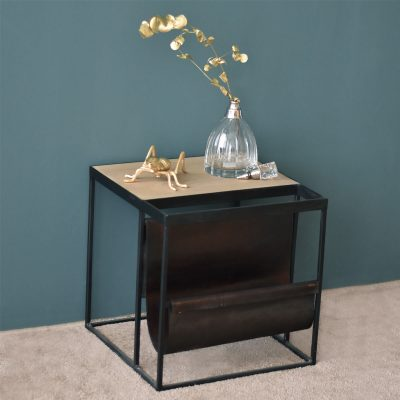 Calais Oak Sidetable