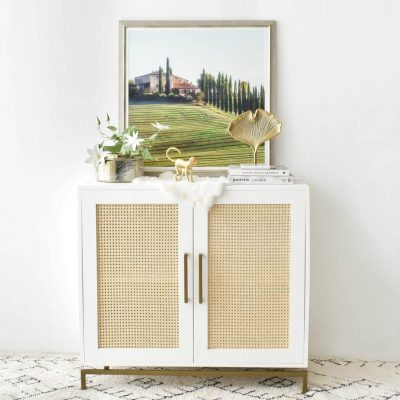 Hanover 2 Door White Sideboard