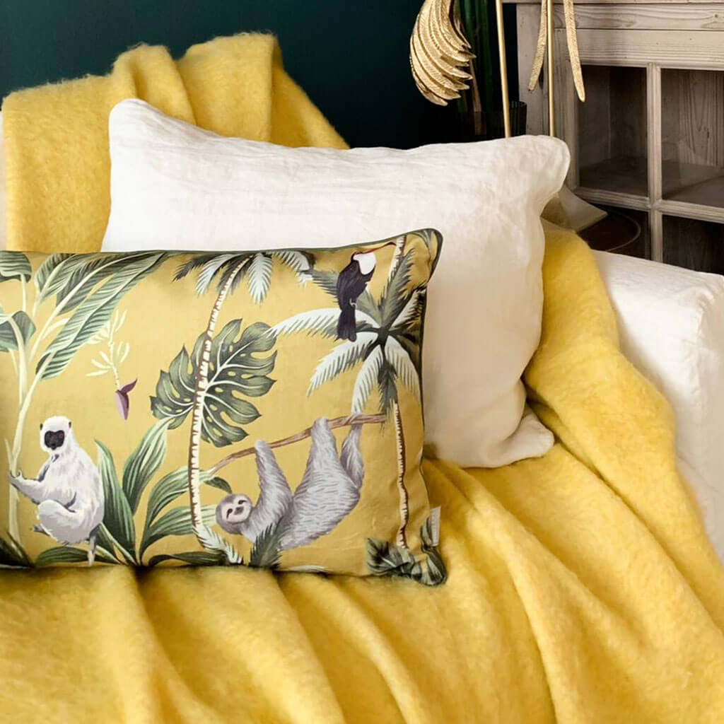 maximalist pillows for home