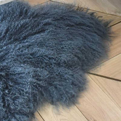 Dark Grey Sheepskin