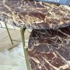 Ibiza Red Marble Set of 2 Table