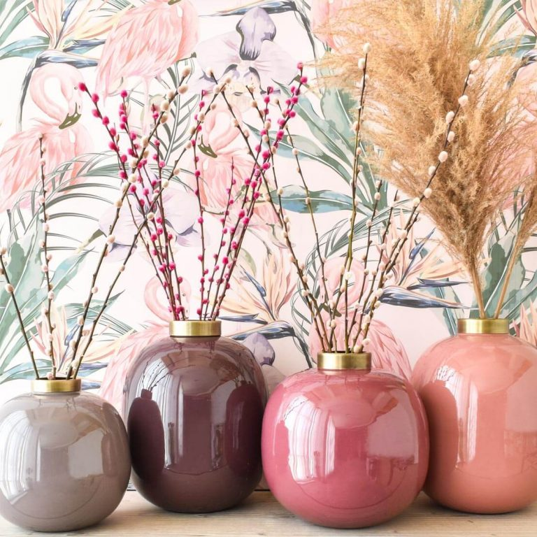 Pop Enamel Vases