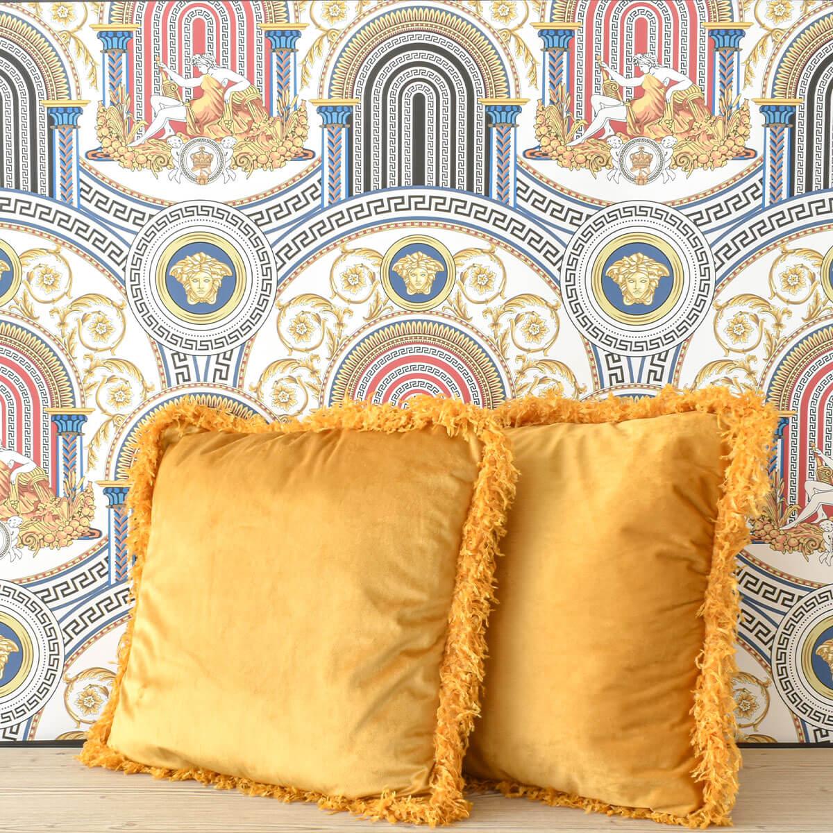 yellow-fringes-cushion-cozy-home-dubai