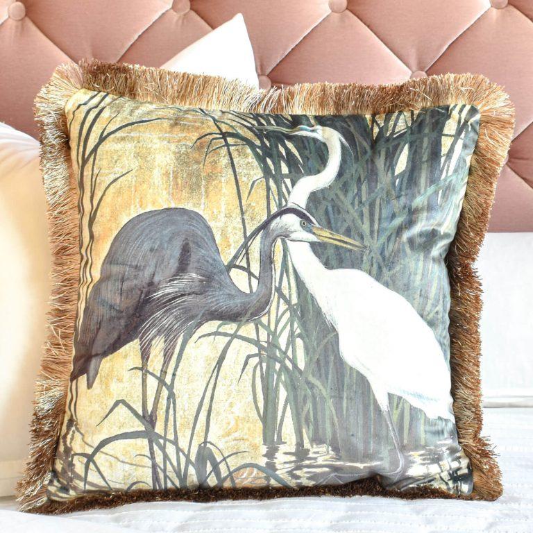 Black Egret in Paradise
