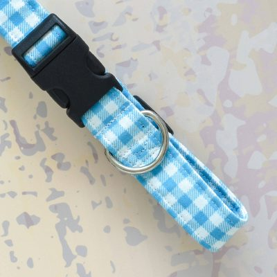Classic Plaid Dog Collar