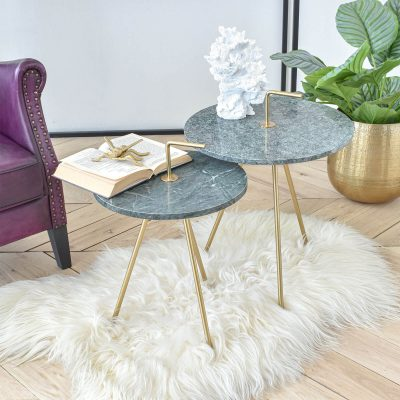 Harry Green Marble Table