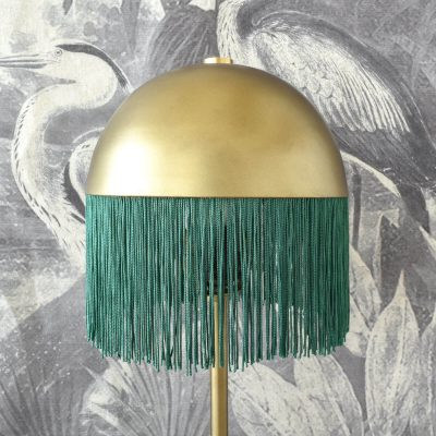 Poppy Fringes Lamp Small