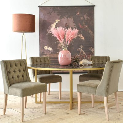 Joshua Oval Dining Table