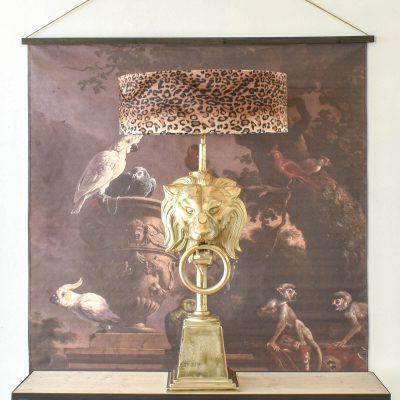 Leopard Table Lamp